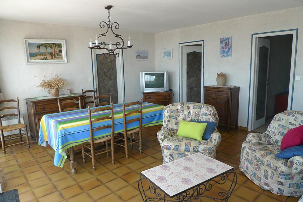 Location villa 6 - 7  personnes jard sur mer